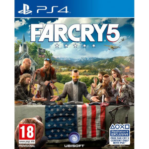far cry 5 ps4 front
