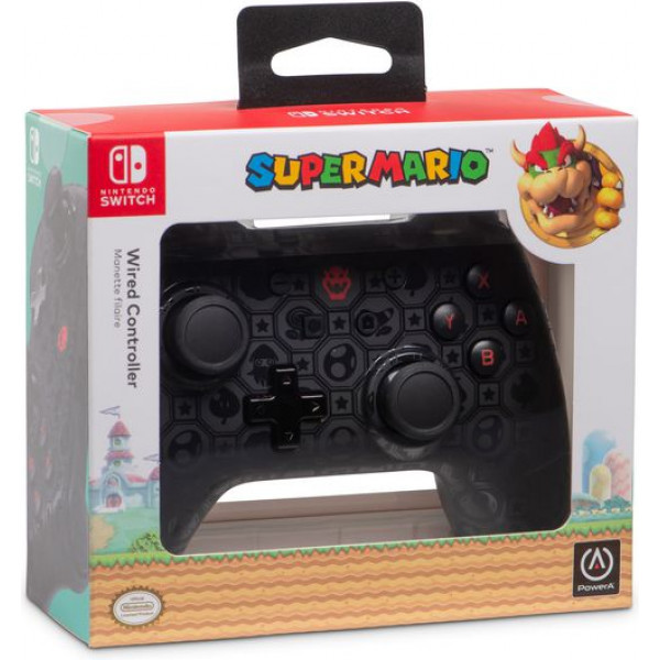 powera wired controller shadow bowser